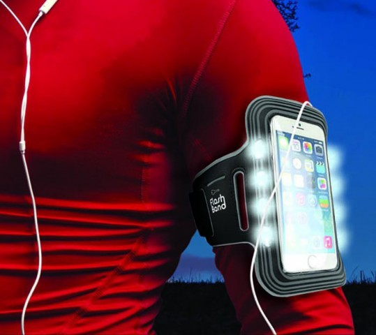 FlashBand – Flashing Sports Jogging Armband