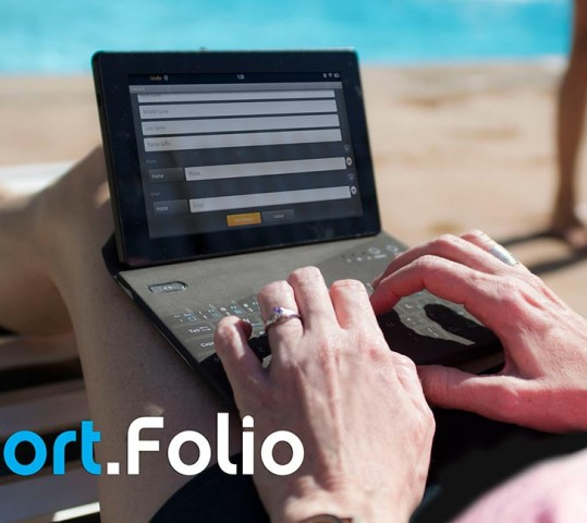 Port.Folio Bluetooth keyboard folio